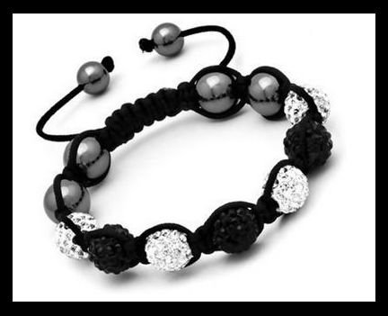 Produit n'30 : Shamballa Black and White