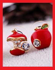 Produit n'52 : Boucle d'oreille pomme