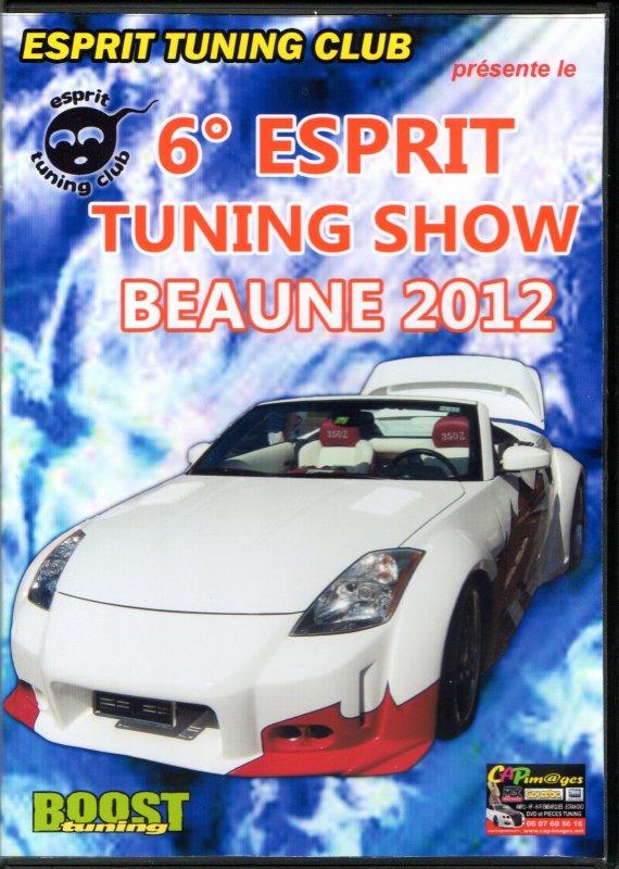 DVD DU 6° ESPRIT TUNING SHOW / BEAUNE 2012