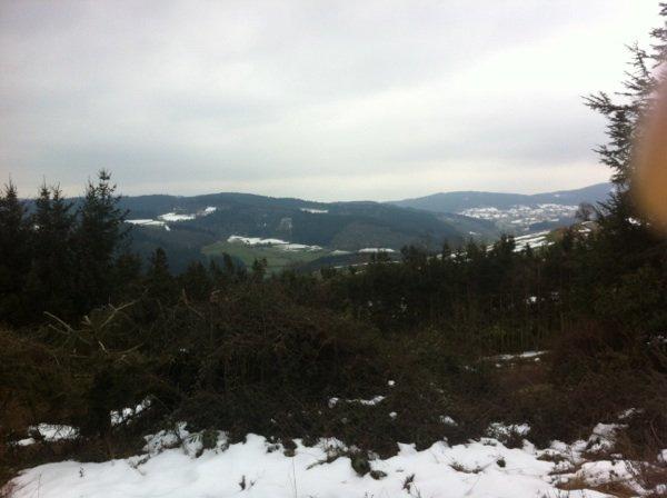 Au skie , pas trop neige , J'MENJAILLE PAS :(