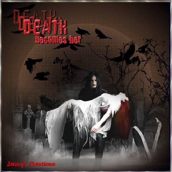 Death Becomes Her - jenny's Creations
