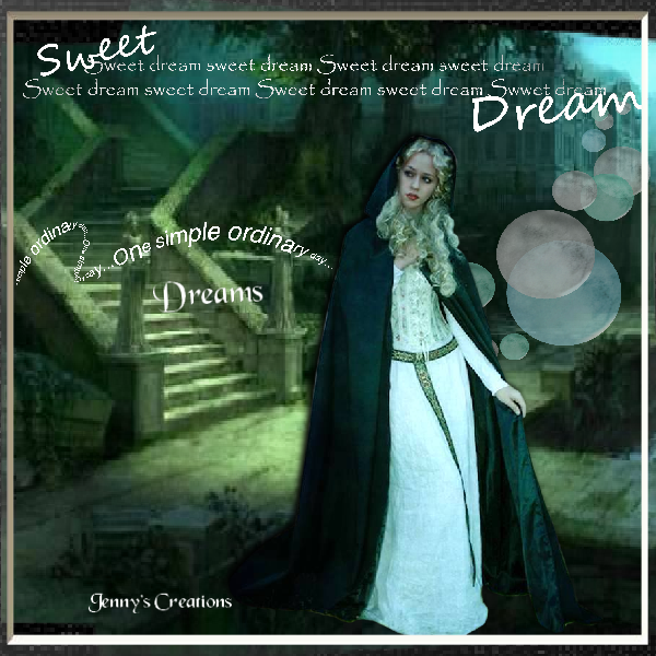 Sweet Dreams - Jenny's Creations