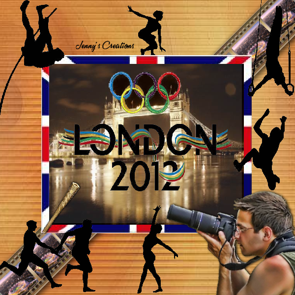Olympics 2012 London - Jenny's Creations