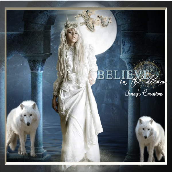 Believe In The Dream - Jenny's Creations
