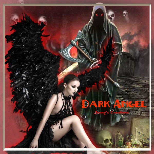 Dark Angel - Jenny's Creations