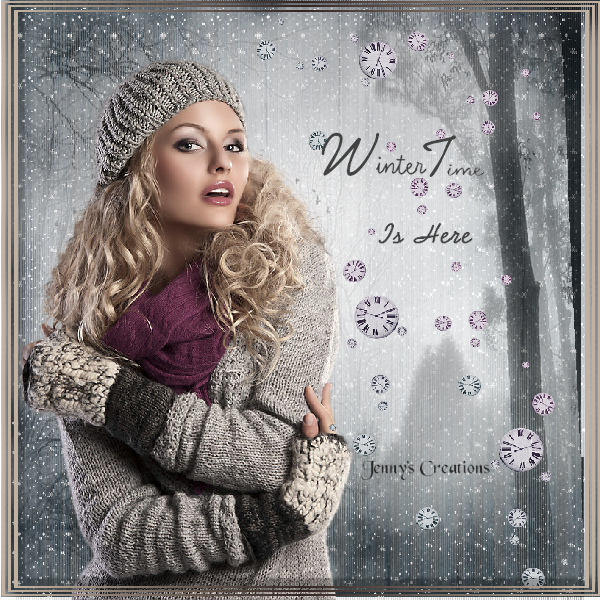 Winter Time - Jenny's Creations