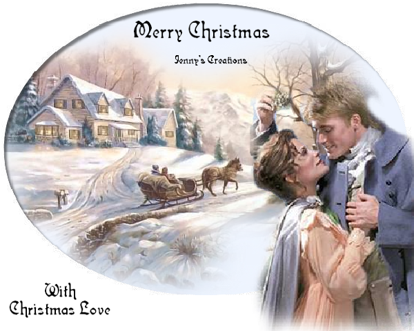 With Christmas Love - Jenny's Creations
