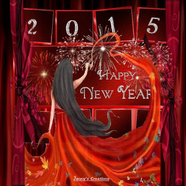 New Year 2015 - Jenny's Creations