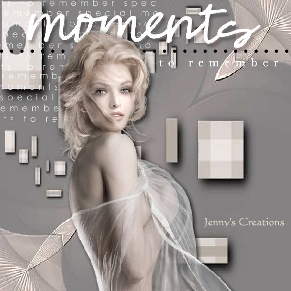 Moments - Jenny's Creations