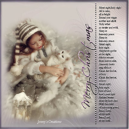 Silent Night - Jenny's Creations