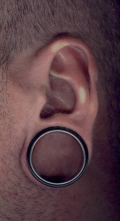 Oreille - Lobe stretché