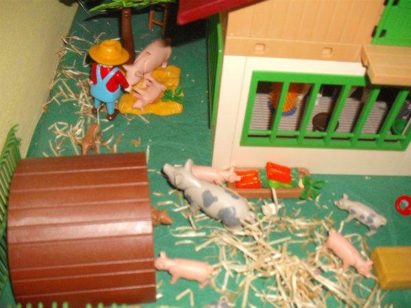 Suite de la ferme (fin de l'aménagement)