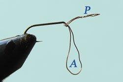 Trucs et astuces: Passe fil:  Préparer l'attache de l'hameçon