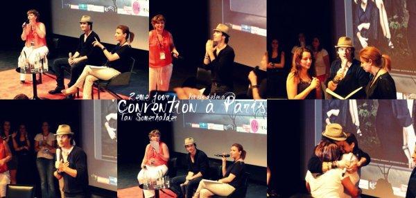 Ian Somerhalder : Convention à Paris <3