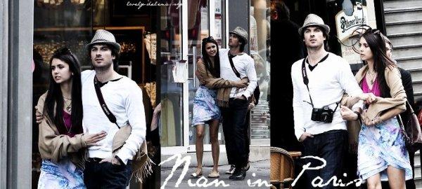 Nina et Ian à Paris avec leurs mamans, visiblement très proche <3