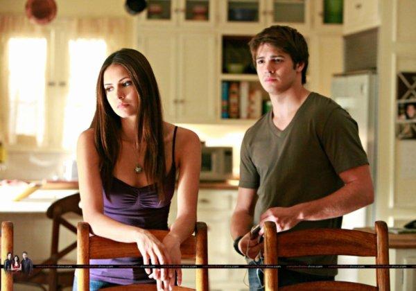 Elena et Jérémy Gilbert