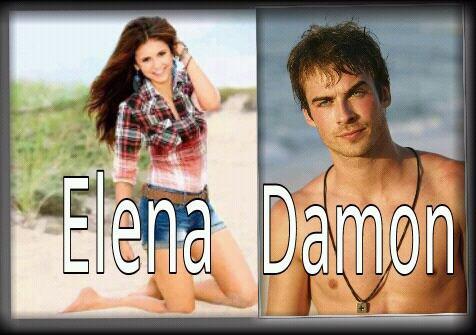 Montage de Damon et Elena