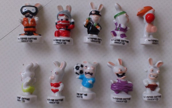 SERIE COMPLETE LAPINS CRETINS