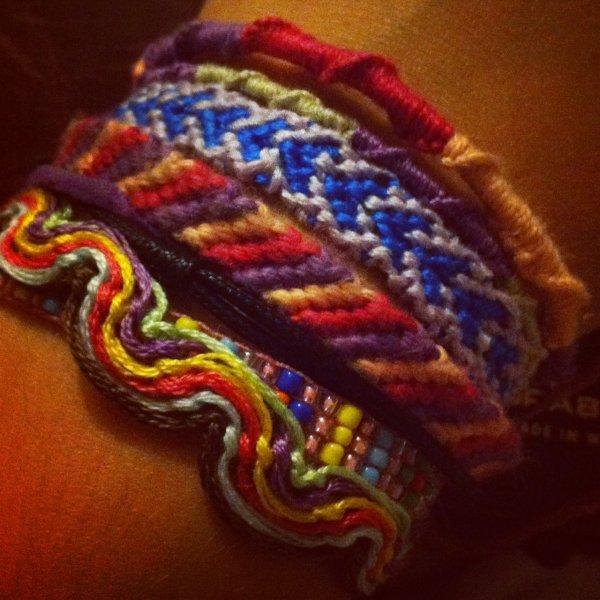 Mes bracelets
