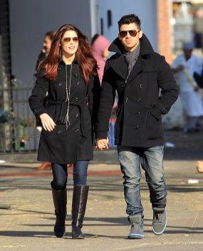 Ashley et Joe de sortie le19 décembre dernier !!