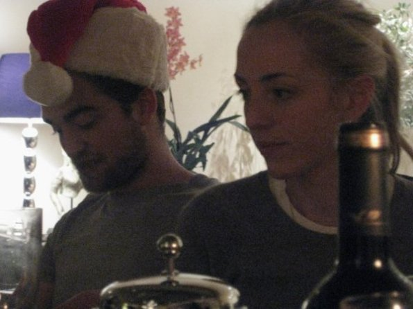 Nouvelle vieille photo de Rob et soeur Victoria !!