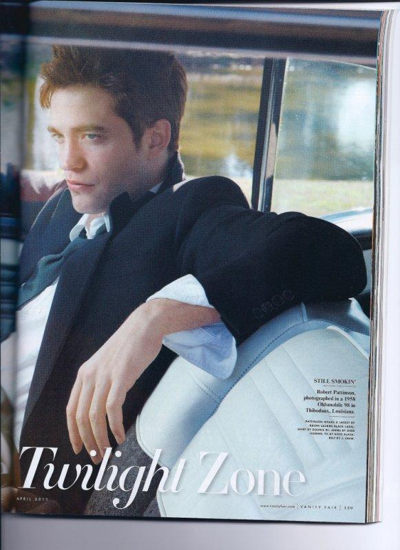 Nouveau photoshoot de Rob pour Vanity Fair !!