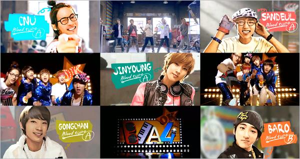 B1A4 : chanteur !!  je kiff !!