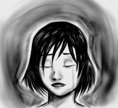 Les larmes d'un passer trouble.