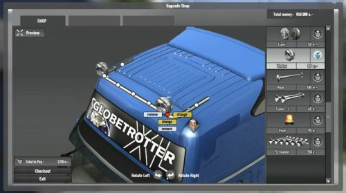 Euro Truck Simulator 2 - Ancienne interface