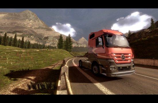 Euro Truck Simulator 2 - Cycle Jour/Nuit + Météo