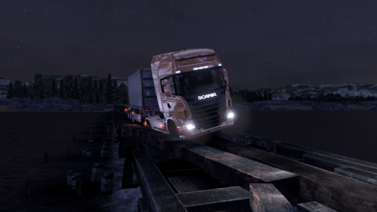 Scania Truck Driving Simulator - Images Gameplay - Mode Extreme