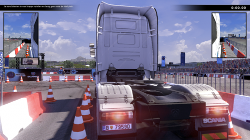 Scania Truck Driving Simulator - Plaques d'immatriculation