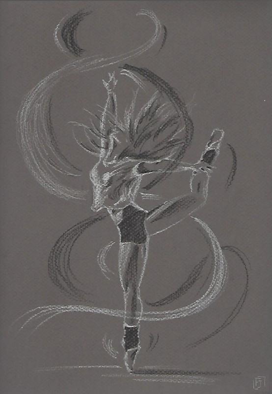 Une danseuse dans le vent :)