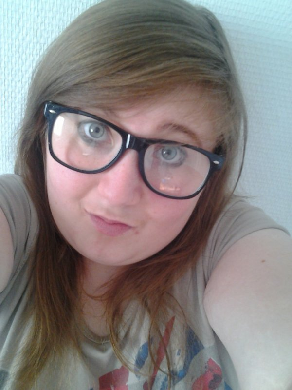 Moi avec des lunette