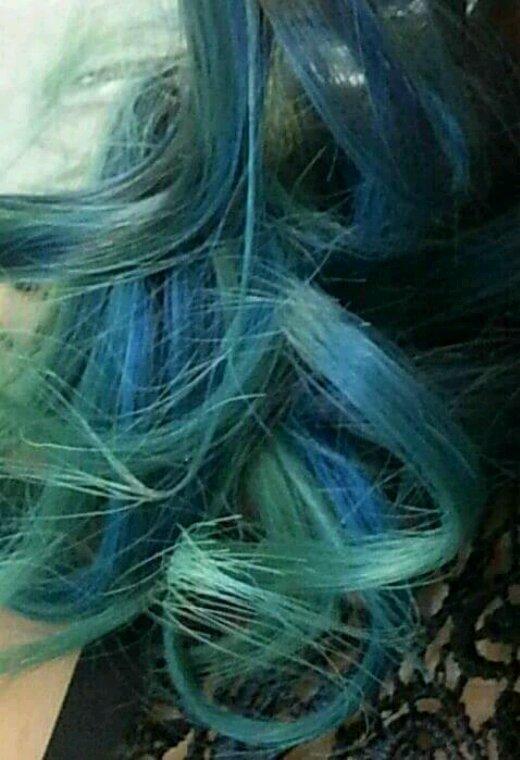 SOLENE / Sa cascade de bleus ❤