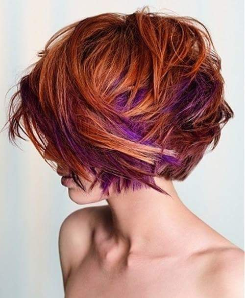 COLORATION UNDERLIGHTS HAIR /