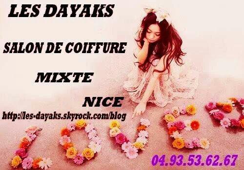 Les Dayaks Salon de Coiffure mixte à Nice