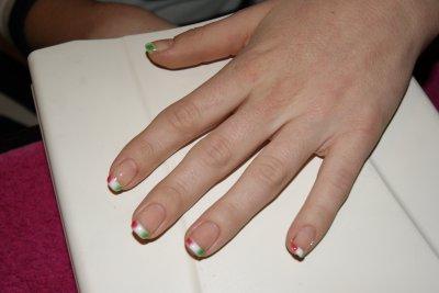 pose gel pour Amandine ongles naturels
