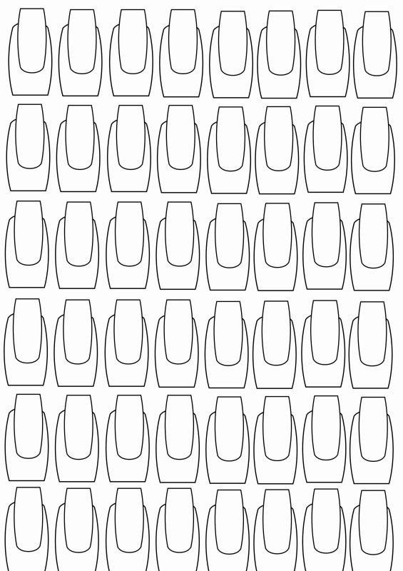 planches d'entrainements nail art et french