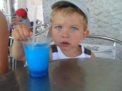tes yeux sont bleu azur super