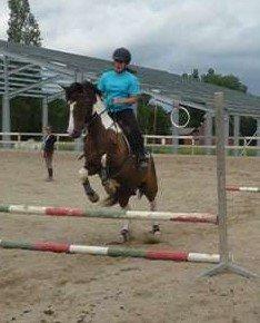 29.06.2011 : Je suis en vacances donc cheval toute la journée !! (: