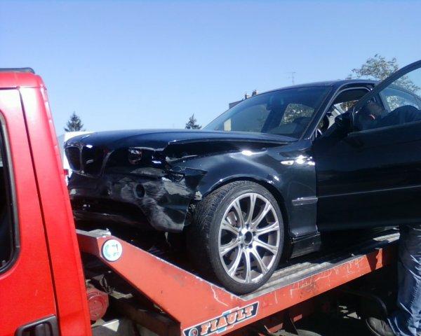 Mon premier gros accident de la route hier dans la nuit