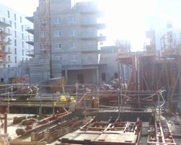 Mon nouveau chantier, un grand projet vraiment immense à Bordeaux!