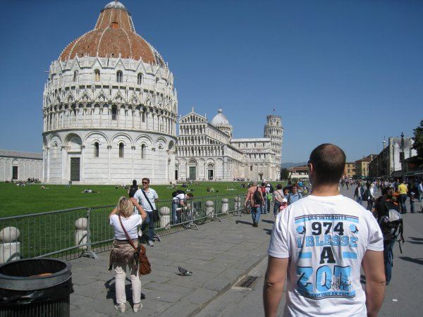 From Pise with love (Italie)