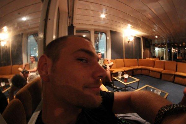 Sur le ferry...