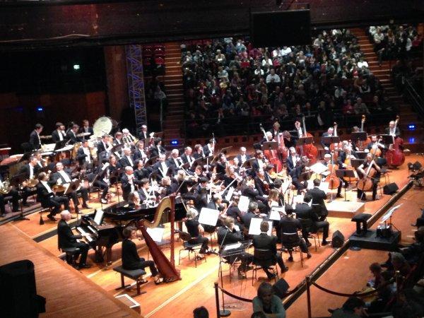 Petite soirée invité à l'orchestre