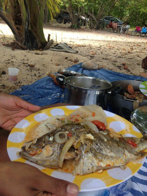 Bon pti plat en gwada