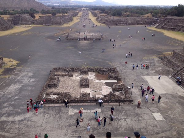 Lucha mexicaine et teotihuacan