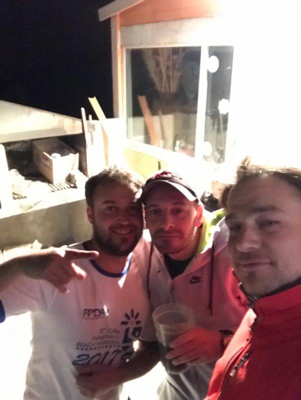 Con mis amigos argentinos
