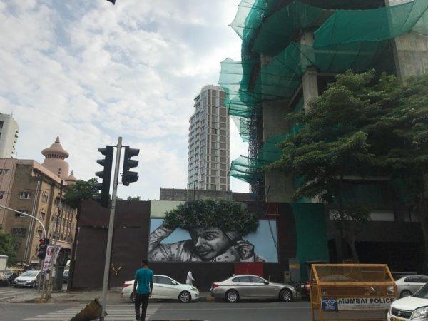 Mumbay street art